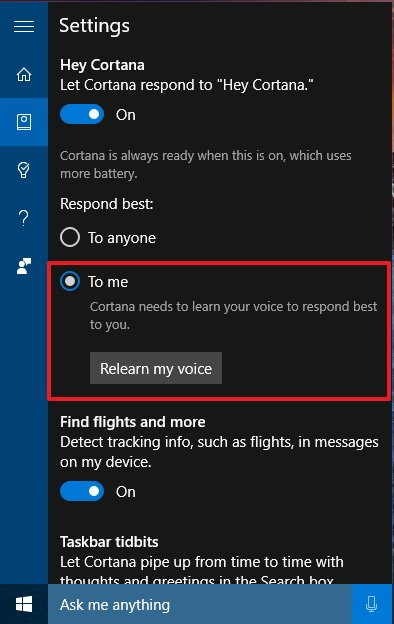 windows 10 pro application used to perform action