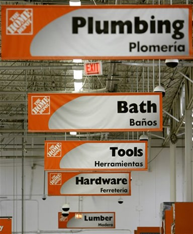 home depot application sign in