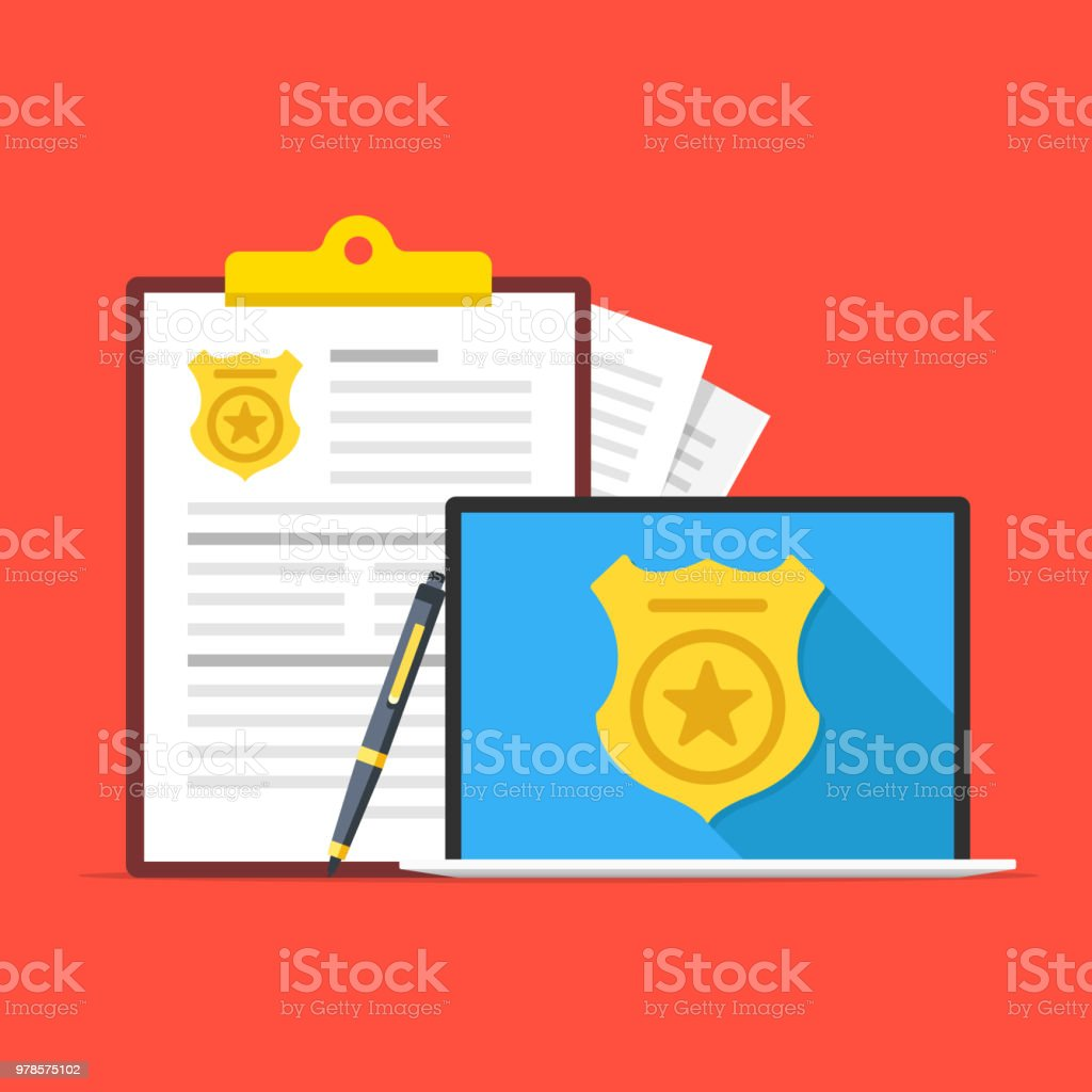 retired police id application form
