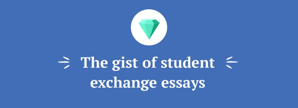 student exchange application essay reddit