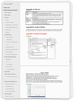requirement specification document for web application