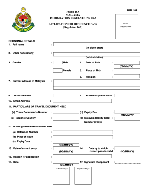 student pass application form malaysia