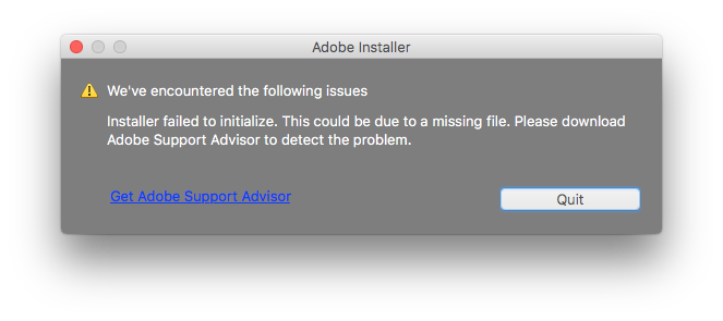 adobe applications hanging while attempting to initialize panels
