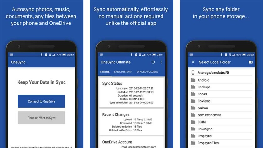 best backup applications for onedrive