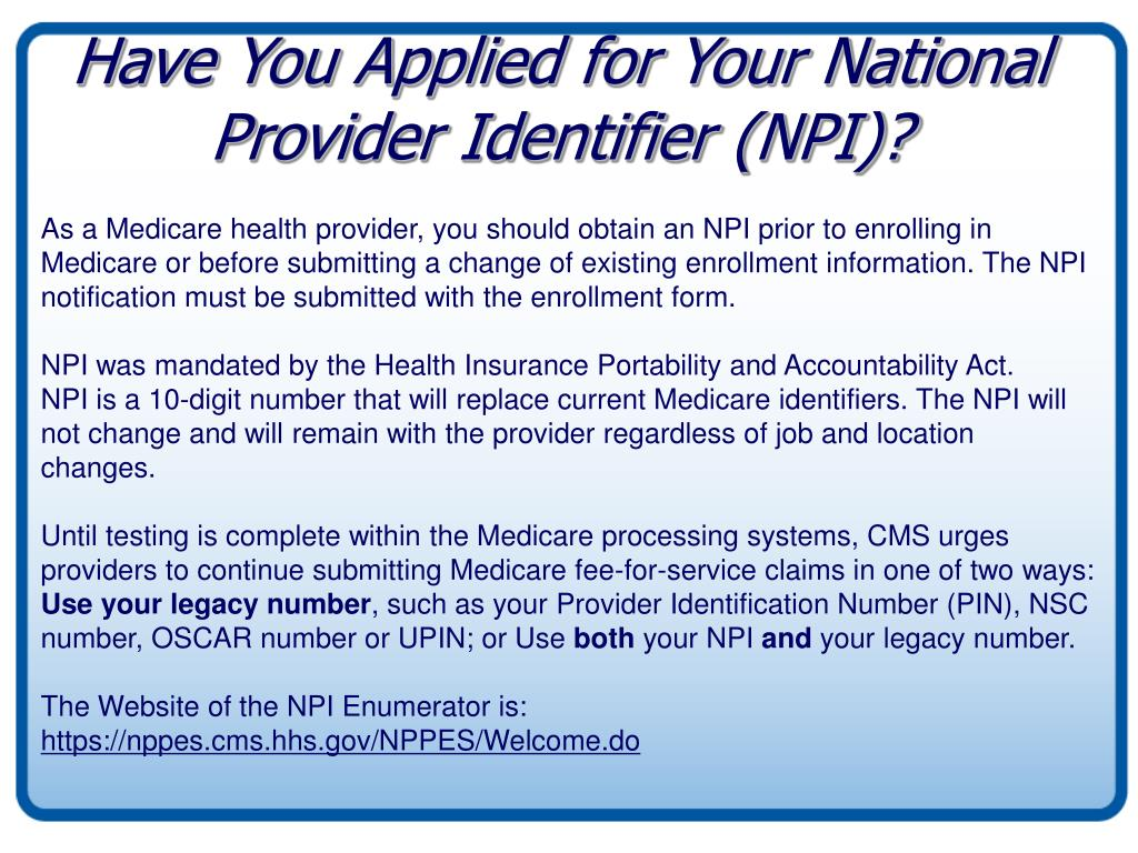 application additional medicare provider number form