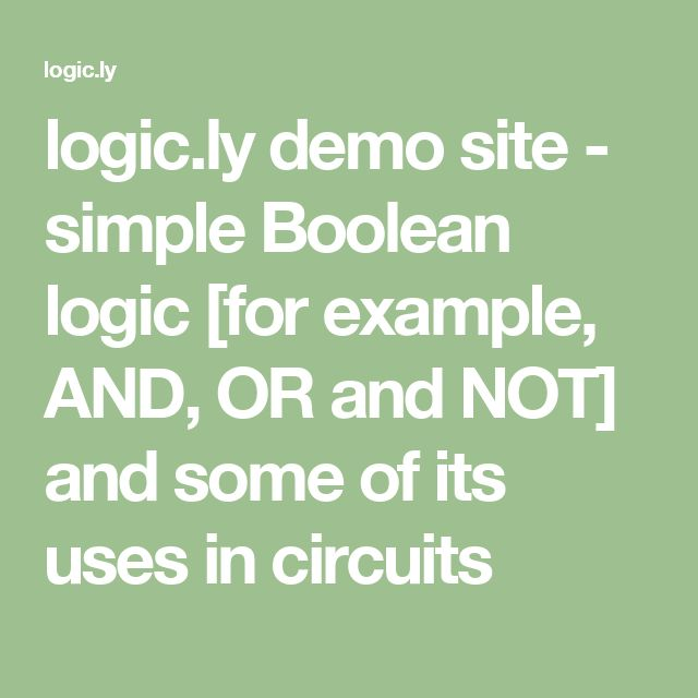 applications of boolean algebra in switching circuit