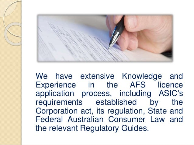 asic afs licence application fee