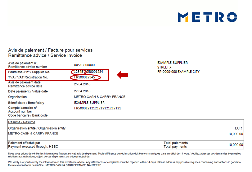 metro cash and carry application form