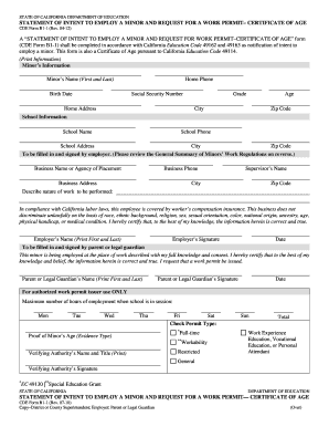 state of california employment application