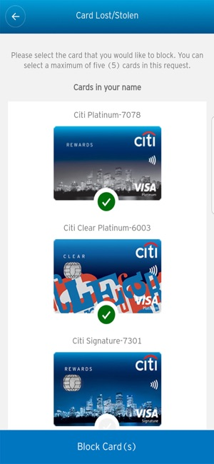 citibank credit card online application form india