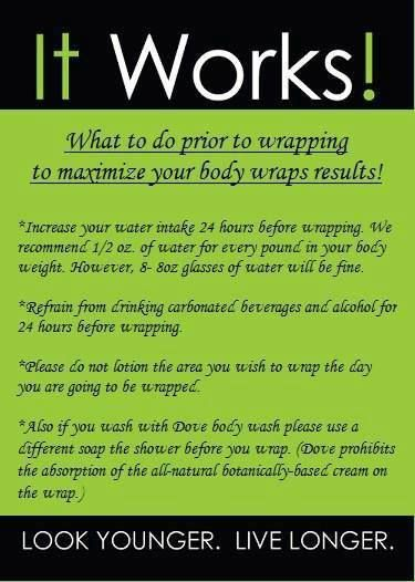 it works ultimate body applicator instructions