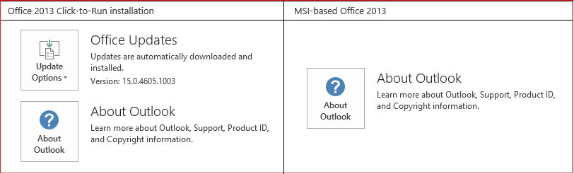 microsoft outlook 2013 application not found