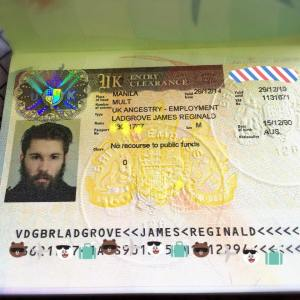 my experience of uk ancestry visa application