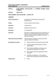 sydney city council development application form