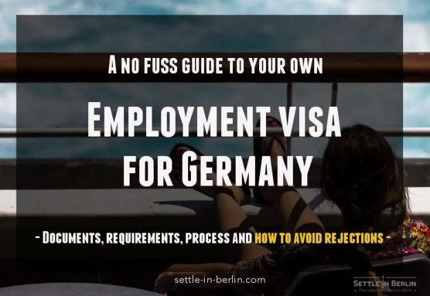 work permit application form for germany